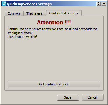 QuickMapServices with contributed services | NextGIS