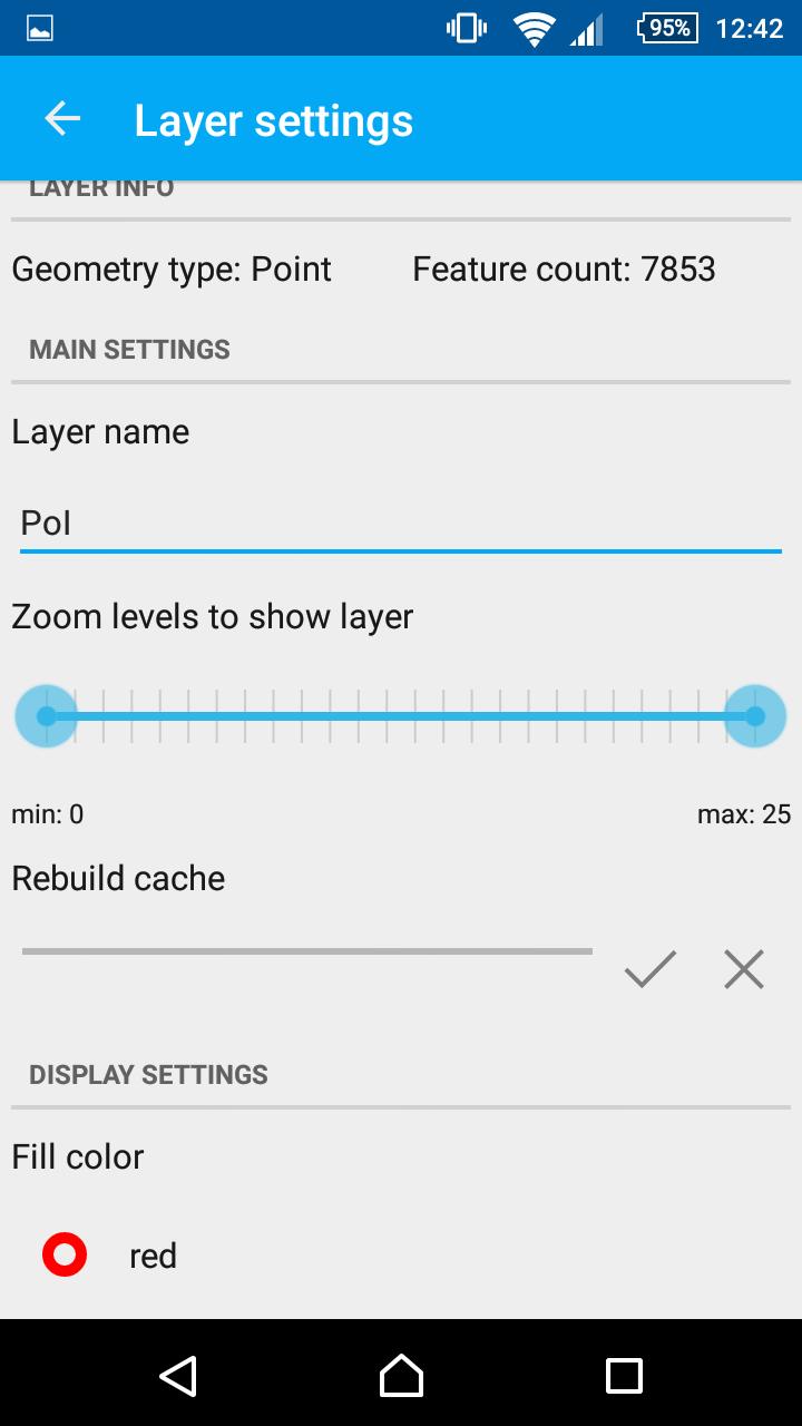vector settings