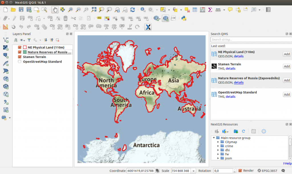 QuickMapServices – from plugin to service for everyone | NextGIS
