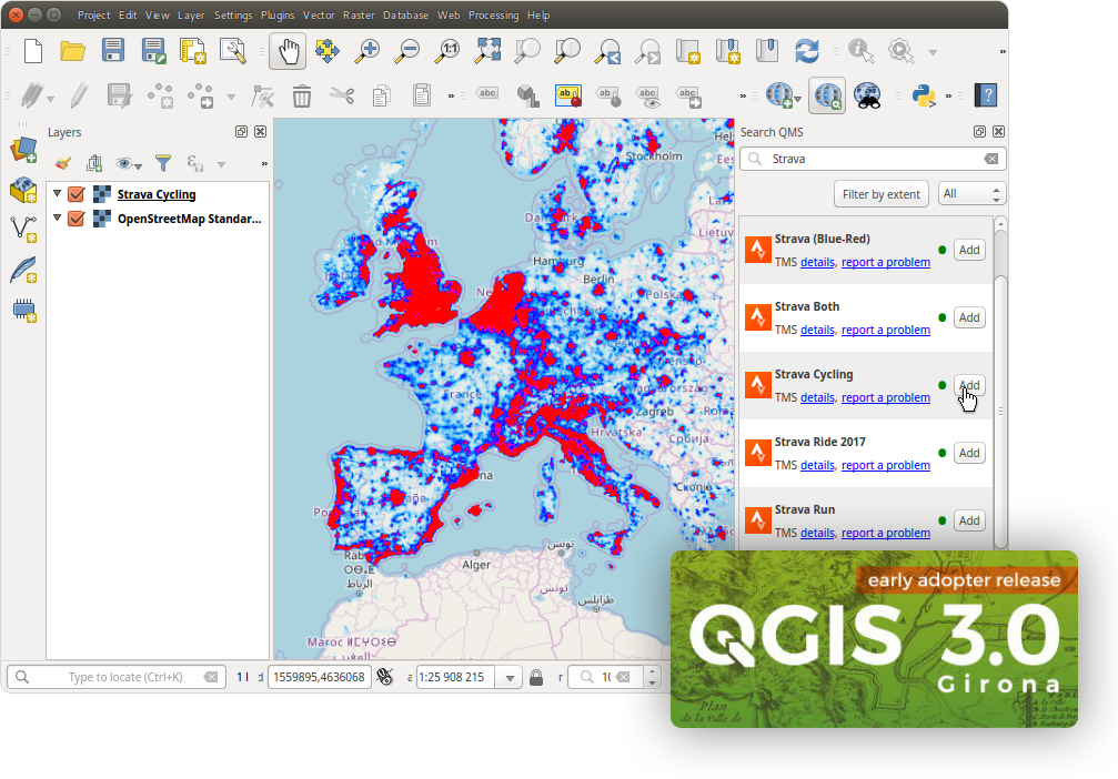 QMS для QGIS3